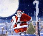 Santa Claus cartas